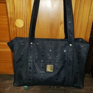 """MCM Large Tote approximately 15""""Lx10""""H"""